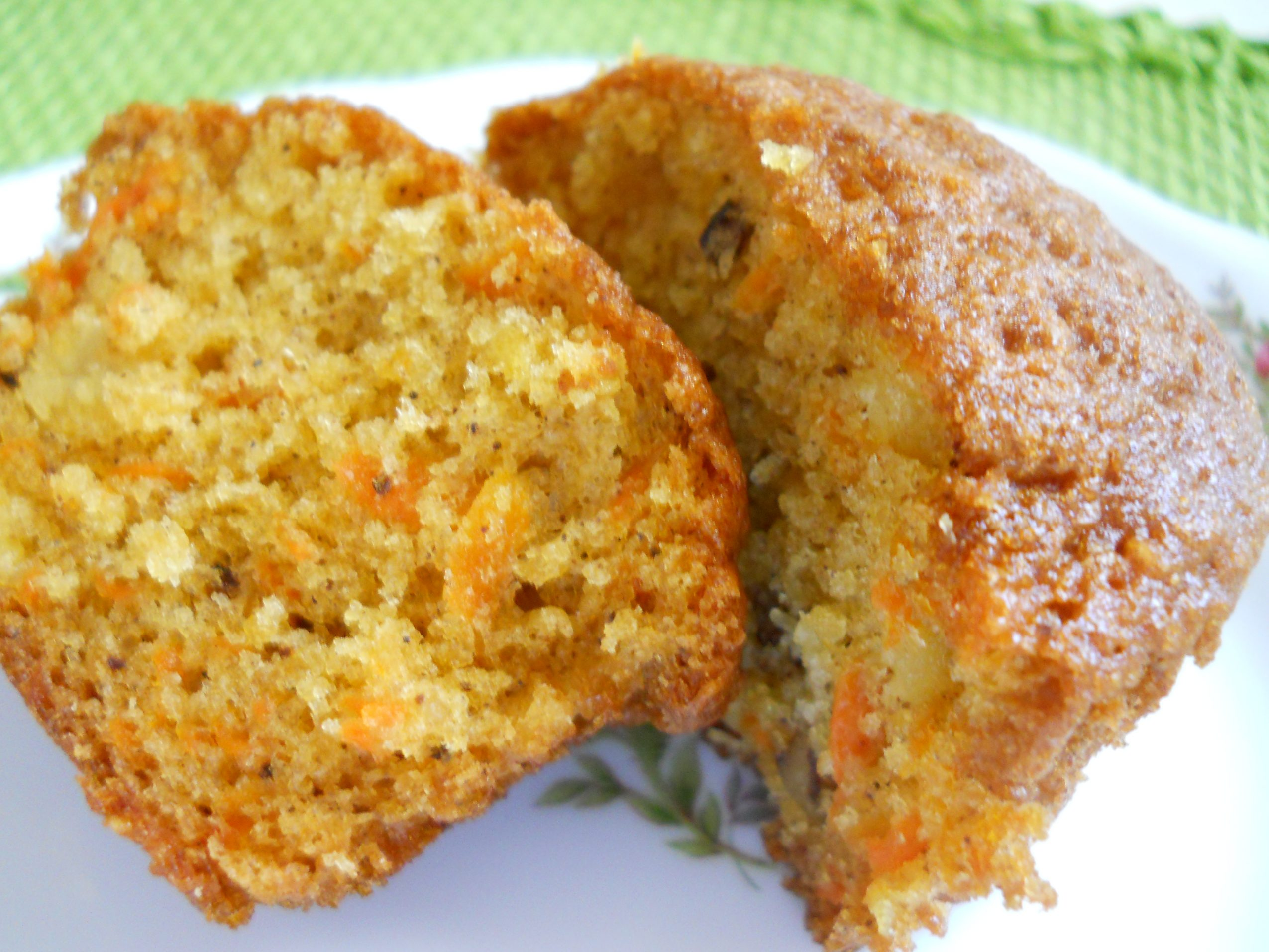 Carrot Cake With Pineapple Muffins
