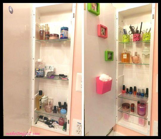 Medicine Cabinet Makeover!