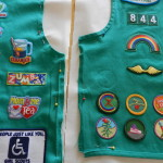 Girl Scouts Vest Pillow