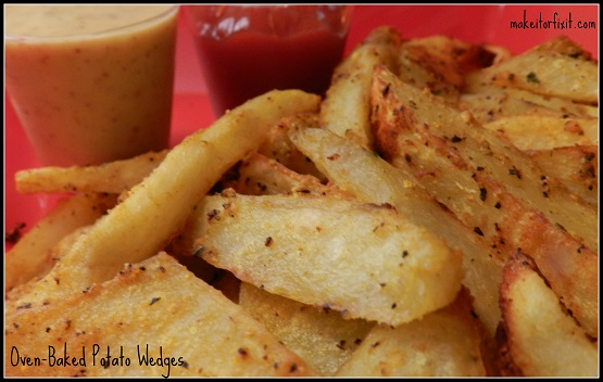 Oven-Baked Potato Wedges!
