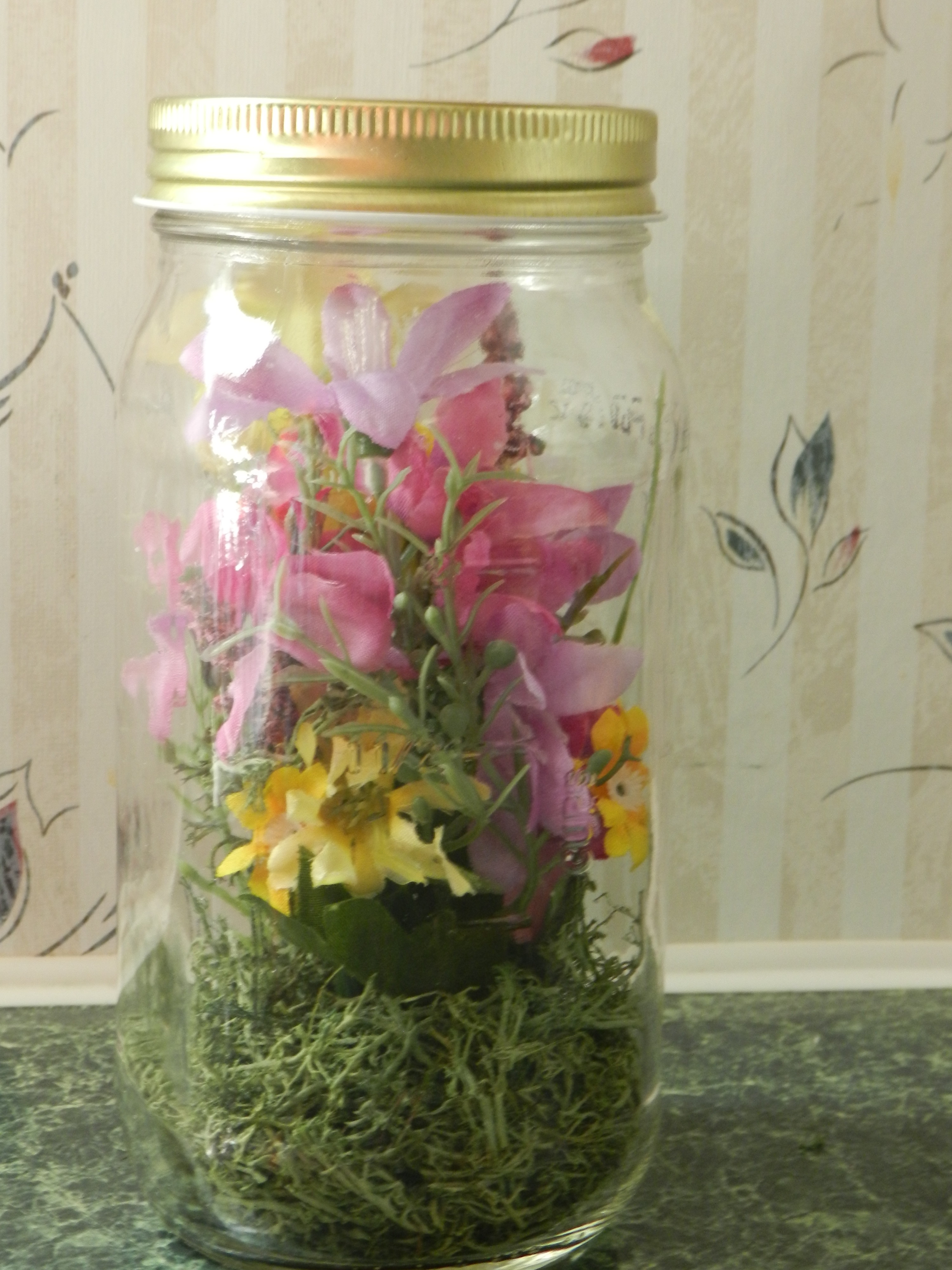 how to decorate and reuse glass jars. Black Bedroom Furniture Sets. Home Design Ideas