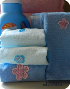 Using Washcloths As Homemade Dryer Sheets