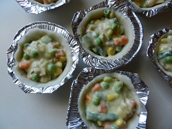 Frozen Mini Chicken Pot Pies