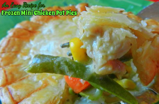 How to Make Frozen Mini Chicken Pot Pies