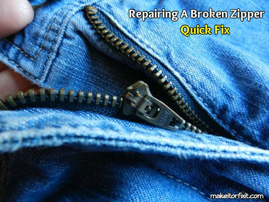 How to Quickly Repair a Broken Zipper