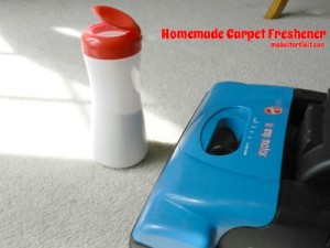 Make Your Own Homemade Carpet Freshener