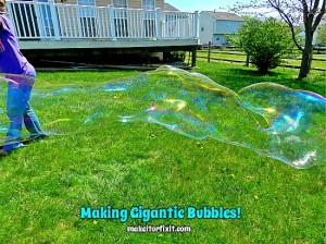 Making Gigantic Bubbles!