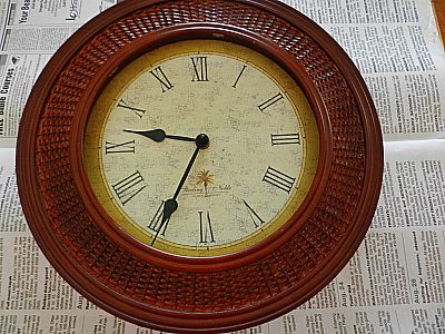 Turning Clock Frames Into Decorative Art