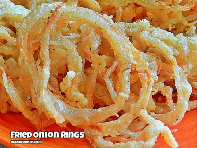 How to Make Fried Onion Rings