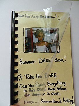 How To Make A Summer Dare Book For Kids