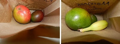 Ripening Mangoes in a Paper Bag